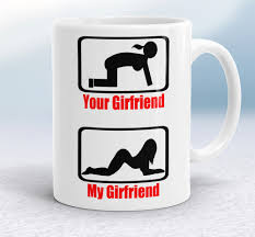 office mugs funny. your girlfriend my mugs funny coffee mug crazy office cups ceramic f
