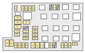 2008 tacoma fuse box diagram data wiring diagrams \u2022 2006 Toyota Camry Fuse Box Diagram toyota tacoma 2005 2008 fuse box diagram auto genius rh autogenius info 2008 camry fuse box