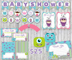 Monster Inc Baby Shower Decorations Similiar Monster Inc Decoration For Girls Keywords