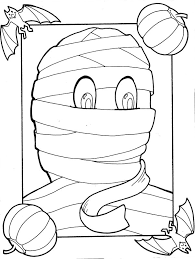 Small Picture Halloween Coloring Pages