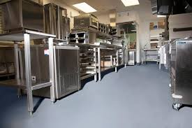 Epoxy Floor Kitchen Commercial Kitchen Flooring Epoxy Stained Concrete Industrial