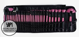 best professional makeup brush set. distributor best quality 32pcs black rossy professional makeup brush set