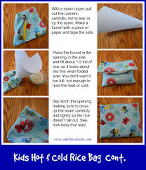 Neck And Shoulder Rice Bag Pattern Awesome Decorating Design