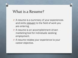 What Is Resume Interesting A Resume Is Tvdsb Homework Help
