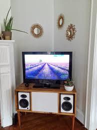 diy modern tv stand. mid century modern diy tv stand diy tv o