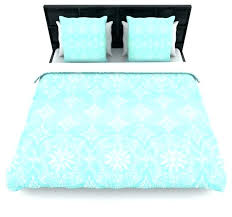 turquoise duvet covers queen suzie tremel medallion aqua ombre duvet cover blue teal queenturquoise twin turquoise