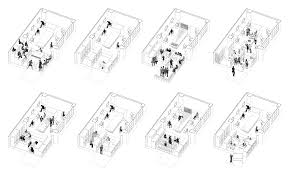 office arrangements. office arrangements of particular studio by architects t