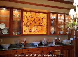 glass door stained glass cabinet door inserts stained glass