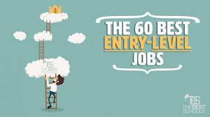 entry levle the 60 best entry level jobs the best schools