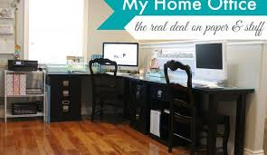 simply organized home office. keeping it real my home office simply organized