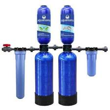 whole house water filtration system with salt