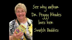 See why author Peggy Rhodes likes her Swatch Buddies - YouTube