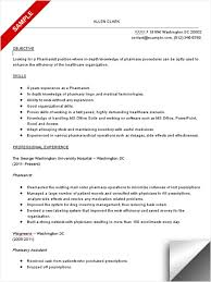 Objective For Pharmacy Resume Pharmacist Resume Sample LimeResumes 1