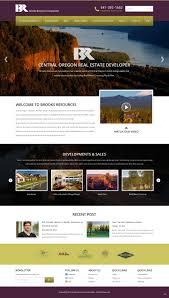 Web Design Oregon City Elegant Upmarket Real Estate Development Web Design For