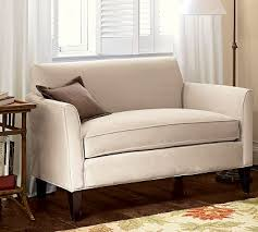 But most of the companies that make these smaller scale upholstered pieces  do not have showrooms in Minneapolis. And my husband felt the need to  actually ...