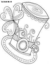 Small Picture St Patricks Gift Coloring St patrick and St patricks day