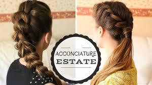 Acconciature Capelli Lunghi Facili E Veloci Hairstyle Tutorial
