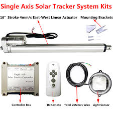 aliexpress com 16 linear actuator electronic controller remote diy solar tracking tracker single axis solar energy automatic control system from