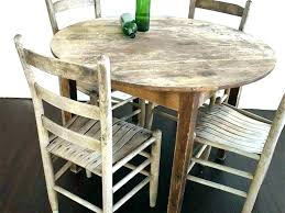 distressed white round dining table appealing distressed white dining set distressed round dining table and chairs