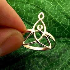 925 handmade sterling silver celtic mother and child knot ring celtic mother daughter knot ring a gift for mother silver mother child celtic knot