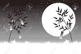 背景素材壁紙星飾り祭笹の葉夜空ストリップ天の川銀河星竹グリッター素材夏