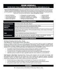 System Engineer Resume Power System Engineer Resume Control System