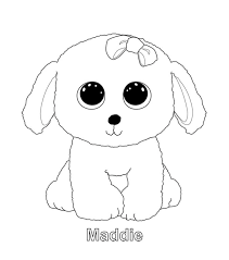 Beanie boo coloring pages | The Sun Flower Pages