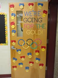 Door Chart Ideas Olympic Themed Classroom Olympics Olympic Crafts