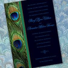 peacock invitations peacock design wedding invitations 25 peacock wedding invitation
