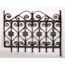 wrought iron fence victorian. A Late 19th Century Wrought Iron Fence With Heart And Flower Details That  Are Elegant Victorian N