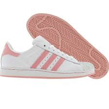 adidas shoes pink and white. adidas superstar pink and white stripes shoes
