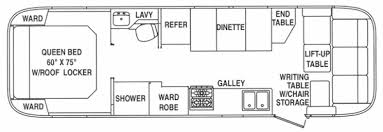 airstream floor plans. Airstream Floor Plans Superb On Interior And Exterior Designs Colonial NJ 2003 Classic 30 3 N
