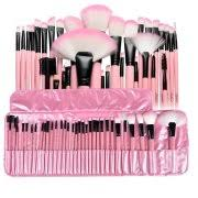 makeup kits for little girls. zodaca 32 pcs makeup brushes superior kit set powder foundation eye shadow eyeliner lip with pink kits for little girls