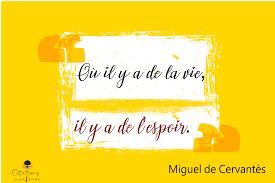 Où Il Y A De La Vie Il Y A De Lespoir Citations Proverbes Et