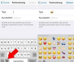 emoji text text smileys kurzbefehle für iphone text smileys in emoji smileys