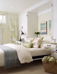 Elegant View In Gallery A Breezy And Cool Color Scheme For The Basement Bedroom
