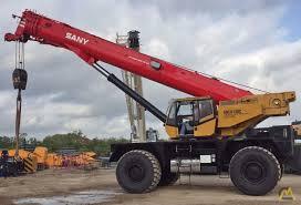 Sany Rough Terrain Crane Scc8130c 130 Ust Trucks Vehicles
