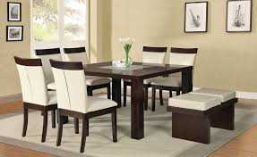 Marino Square Dining Table Set  Furniture Store Los Angeles