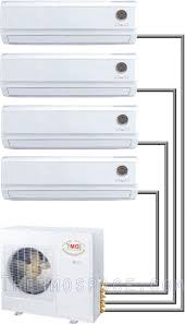 btu quad zone ductless mini split air conditioner quad zone mini split air conditioner