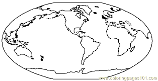 Small Picture Globe Coloring Page Free Seasons Coloring Pages
