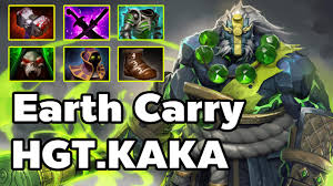 dota2 hgt kaka douyu pro heroes earth spirit carry mmr 7500