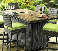 patio furniture bar height dining set bar height outdoor dining table set patio furniture bar height