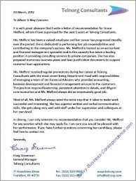 recommendation letter for case manager business letters job search