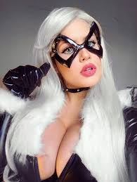 black cat marvel cosplay. Unique Cat Black Cat  Marvel By Leticiahadmadcosplay  For Cosplay K