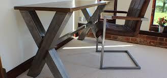 office desk metal. Russell Oak And Steel Ltd Office Desk Metal