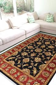 beautiful fl king handknotted wool area rug
