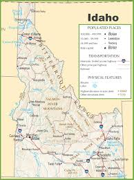 idaho state maps  usa  maps of idaho (id)
