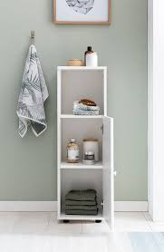 Badezimmer Regal Weiss Holz