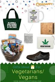gift ideas for vegetarians and vegans