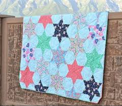 33 Star Quilt Patterns: Free Block Designs and Quilt Ideas ... & Counting Stars Bed Quilt Tutorial Adamdwight.com